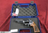 "For Sale: S&W 150783 29 .44 Mag 4"" 6rd Engraved Wood Grip Bl"