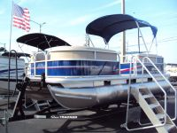2017 Sun Tracker Party Barge 18 DLX Pontoons Boats Holiday, FL