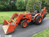 For Sale: Kubota Loader Woods Backhoe