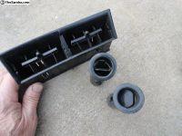 Volkswagen Super Beetle Dash Defrost Plastics
