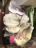 Old Box Full of Children s And Doll Vintage Clothing