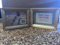 NWT double frame gold