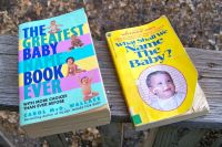 x2 Baby Name Books