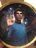Spock Collectors Plate