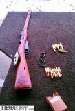 For Sale: 1944 Mosin Nagant w/Ammo