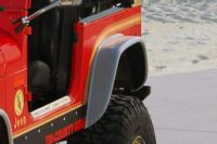 Find 76-80 Jeep CJ Rear, Left Fender Extension Traditional 1 Pc SUV motorcycle in Anaheim, California, US, for US $82.00