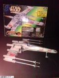 For Sale/Trade: STAR WARS 1997 POWER OF THE FORCE ELECTRONIC X-WING FIGHTER