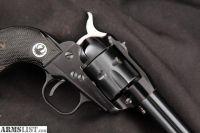 For Sale: Ruger Lightweight Single Six, Blue Cylinder & Barrel, Black Anodized Frame 4 5/8 Sa Single Action Revolver, MFD 1958 C&R .22 LR
