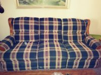 Reclining Sofa and Love Seat