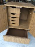 Small Storage Cabinet w/ pull out draws