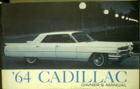Purchase 1964 Cadillac Owners Manual Original Series 62 Sixty-Special Fleetwood Eldorado motorcycle in Holts Summit, Missouri, United States, for US $42.64