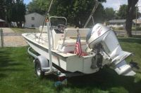 1985 Boston Whaler Super Sport Center Console