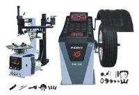 PHOENIX PWB1530A/PWC2950A TIRE CHANGER w/HELPER ARM WHEEL BALANCER COMBO