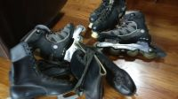 ice skates 2pairs .rollerblades,roller skates
