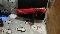 Nerf rival gun and amo still in box only been used twice MAKE OFFER