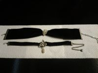 Black Velvet Ribbon Chocker_2 (price each)