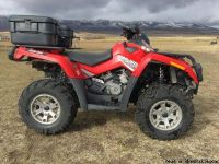 Mint Condition 2007 Can Am Outlander 500 with Snow Plow $1600