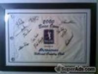 Autographed Boise Open Buy.Com Tour Flag