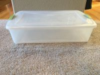 Rubber maid storage container