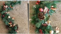 Gorgeous 70 inch shimmering Christmas Garland