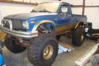 1980 Toyota Rat Rod Monster Truck
