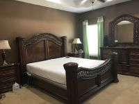 King Size Bedroom Set (Mattress and Boxspring not Included)
