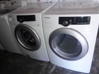 Samsung front loads washer and dryer electric