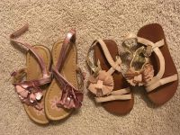 Size 9 sandals (left pair like new)