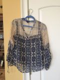 Lucky brand Stylish top - great condition- $10