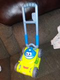 Playschool lawn mower. Sounds work, mouth chomps. EUC x posted