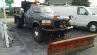 Used 1992 Ford F-350 Mason Dump, 235,000 miles