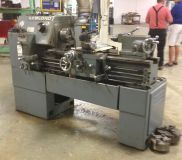 Lathe milling machine metal saw leblond bridgeport mill torno