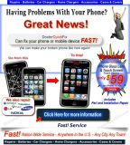 Cell Phone Cracked or Broken  - Fast Repairs from $39.95