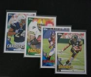 2010 Topps Rookie cards (4)