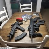 For Trade: Bullpup SKS & AK Pistol Combo with Ammo!