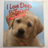 Kids book about dogs and puppies