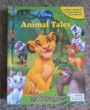 Disney Animal Tales My Busy Books w/ Playmat & 9 Figures Interactive Storybook