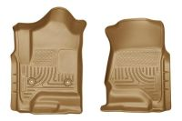 Find Husky Liners 18233 2014 Chevy Silverado Tan Custom Floor Mats 1st Row motorcycle in Winfield, Kansas, US, for US $96.95