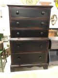 Solid Wood Chest on Chest @ Brass Bear 2652 Valleydale Rd. Birmingham (Hoover area) AL 35244 -- 205-566-0601