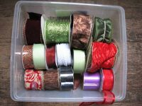 Ribbon, Decorating Crafts Trim, Some never used