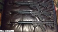 For Sale: (3) AR15 No BCG