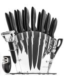 Brand New Complete Knife Set w/stand