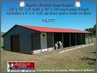 Loafing Sheds, Barns, Shelters