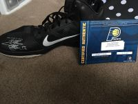 Signed NBA Pacer Tyler Hansbrough shoe