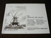 Vintage Fox Valley Calendar