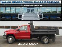 2007 Dodge Ram 3500 Cummins Diesel Dump Truck