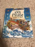 Like New 1001 Pirate Things to Spot Book