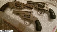 For Sale/Trade: 3 old revolvers