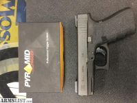 For Sale: Glock 19 Gen4 with Truglo TFO and pyramid trigger!
