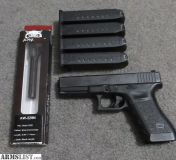 For Sale: Glock 22 .40 cal with Lone Wolf 9mm conversion